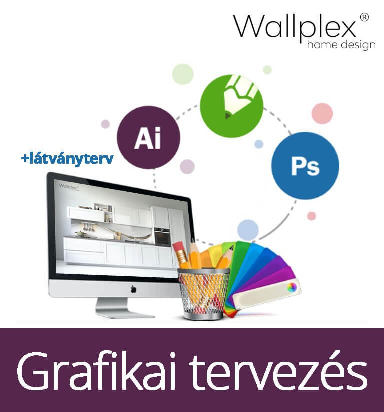 Grafikai tervezés nagy csomag wallplex